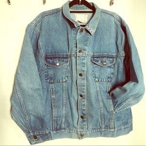 Learsi vintage denim trucker jacket
